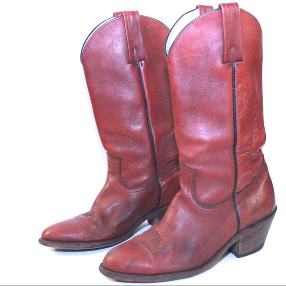 70960be790635 Frye Men's Vintage Leather Western Cowboy Boots